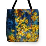 In The Woods Again Tote Bag