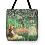 In The Woods At Giverny Tote Bag