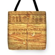In The Words Of The Immortal... Tote Bag