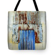 In Through The Out Door Tote Bag
