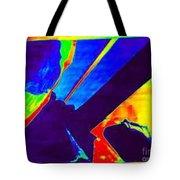 In Transit Rainglow Tote Bag