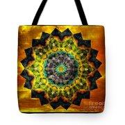 In Tune Mandala Tote Bag