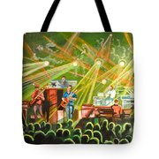 In With The Um Crowd Tote Bag