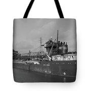 Inbound To Severstal - Black And White Tote Bag