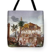 Inca Native Indians Tote Bag