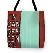 Incandescence Par Le Gaz  1892 Tote Bag