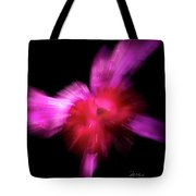 Incoming Attack Orchid Tote Bag