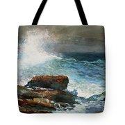 Incoming Tide Scarboro Maine Tote Bag