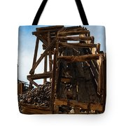 Independence Gold Mine Ruins Tote Bag