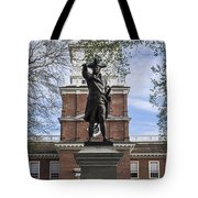 Independence Hall And Commodore Barry Tote Bag