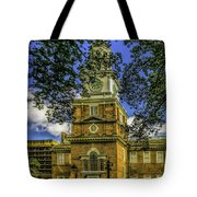 Independence Hall-philadelphia Tote Bag