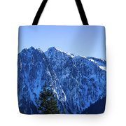 Index Mountain Tote Bag