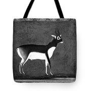 India: Black Buck Tote Bag