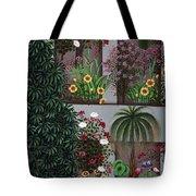 India: Garden Tote Bag