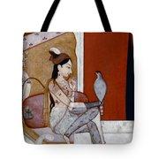 India: Lady & Hawk, C1570 Tote Bag