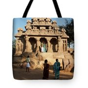 India Mahabalipuram  Tote Bag