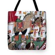 India: Military Festival Tote Bag