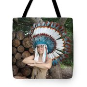 Indian 018 Tote Bag