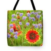 Indian Blanketflowers Gaillardia Puchella Tote Bag