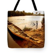 Indian Boat Tote Bag
