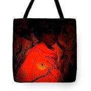 Indian Boy Tote Bag