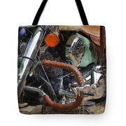 Indian Chief Vintage Ll Tote Bag by Michelle Calkins