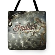 Indian Chopper Gas Tank Tote Bag