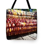 Indian Corn On The Cob Tote Bag