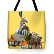Indian Ducks Tote Bag