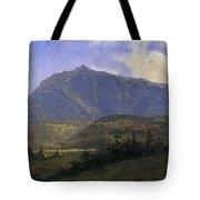Indian Encampment Albert Bierstadt Tote Bag