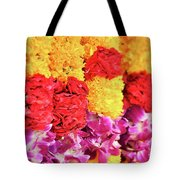 Indian Flower Garland Tote Bag