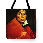 Indian Girl 1916 Tote Bag