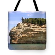 Indian Head Rock Tote Bag