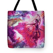 Indian Kathak Dance 87y Tote Bag