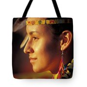 Indian Maiden Tote Bag