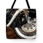 Indian Motorcycle Wheel Tote Bag