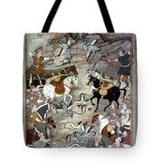 Indian Mughal Book Tote Bag