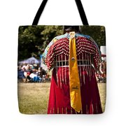 Indian Nation Pow Wow Dancers Tote Bag