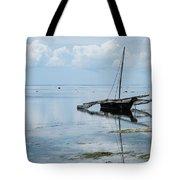 Indian Ocean At Lowtide Tote Bag