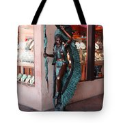 Indian On The Square Sante Fe Nm Tote Bag