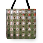 Indian Paint Pot Flower Abstract #2 Tote Bag
