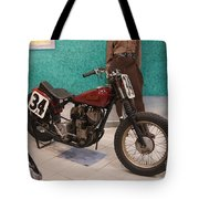 Indian Racing Motorcycle 34 Tote Bag