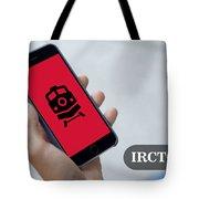 Indian Railways Info App Tote Bag