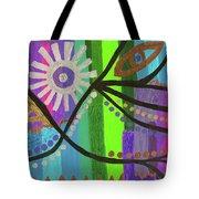 Indian Rainbow Dance Tote Bag