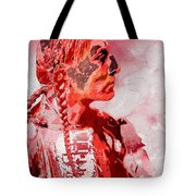 Indian Red Tote Bag