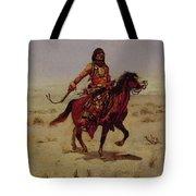 Indian Rider Tote Bag