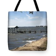 Indian River Lagoon At Indialantic Florida Tote Bag