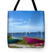 Indian River Lagoon On The Easr Coast Of Florida Tote Bag