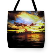 Indian Rocks Sunset Tote Bag