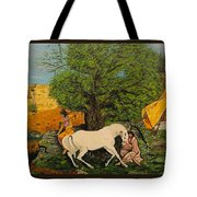 Indian Romance Tote Bag